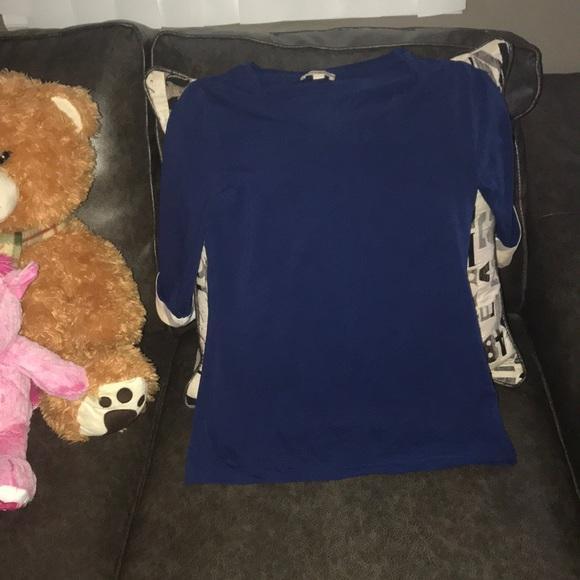 403966ff7b8dd5 Burberry Tops - Women's size S Burberry 3/4 length sleeves shirt